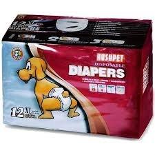 חיתולים לכלב HUSHPET מידה XL