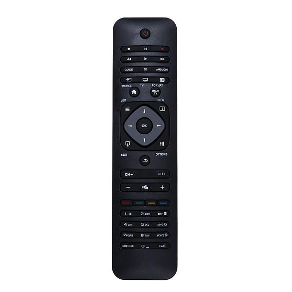 שלט רחוק אוניברסלי lcd/led/smart tv/3d לטלויזית פיליפס/philps