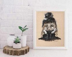 portrait of woman 4