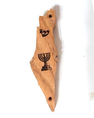 בית מזוזה ארץ ישראל עץ אלון M157
