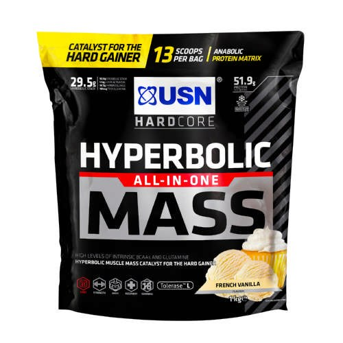 USN Hyperbolic Mass All-In-One|גיינר 6KG יחס 1:3