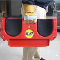 עגלת משטח נייד מגן ברכיים וגב