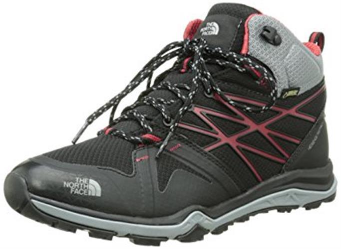 נעלי  הרים גברים שחור - אדום THE NORTH FACE HEDGEHOG FASTPACK LITE MID GTX