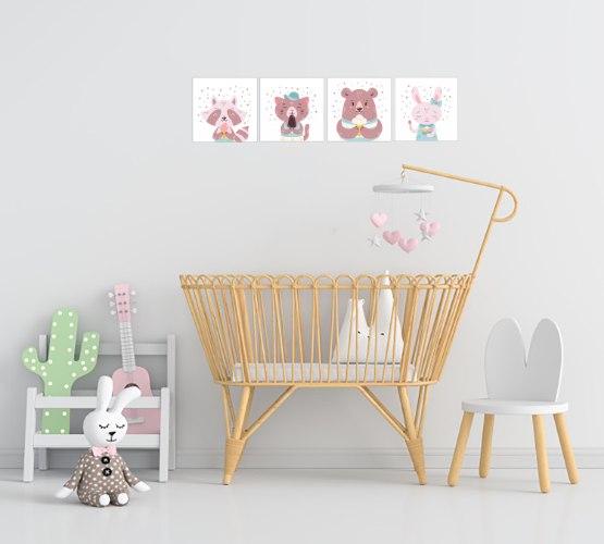 דגם חדר תינוקות