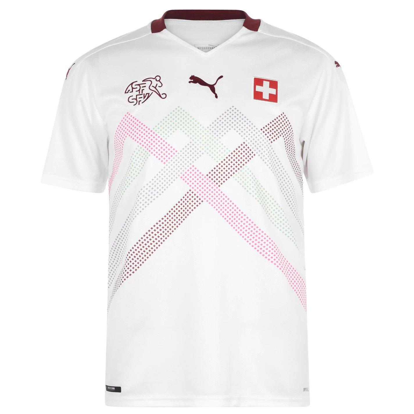 חולצת אוהד שוויץ חוץ יורו 2020