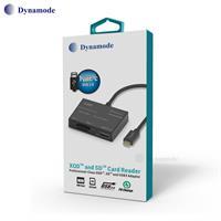 קורא כרטיסי זיכרון כולל XQD עם חיבור Type C מבית Dynamode
