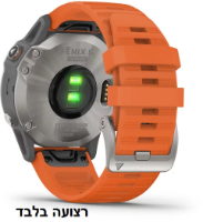 רצועה מקורית לשעון גרמין Garmin Fenix 6 QuickFit 22 Watch Bands כתום