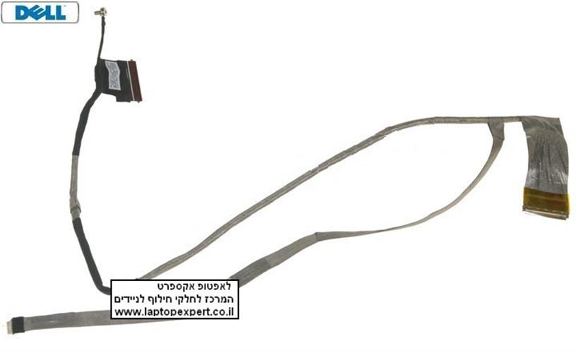 """כבל מסך למחשב נייד דל Dell Inspiron 17R / N7010 lcd cable for 17.3"""" LED displays, part number 0GYM9F"""