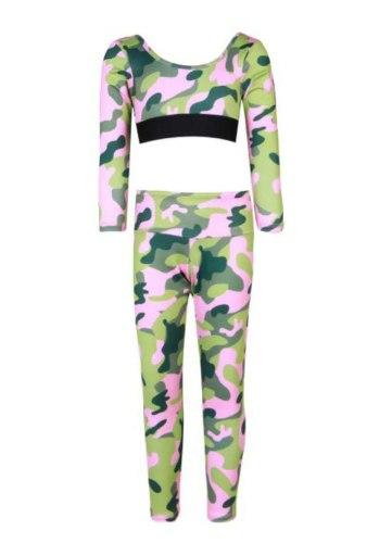 חליפת ספורט קומופלאג׳ צבעוני VIEW - בנות 2-16