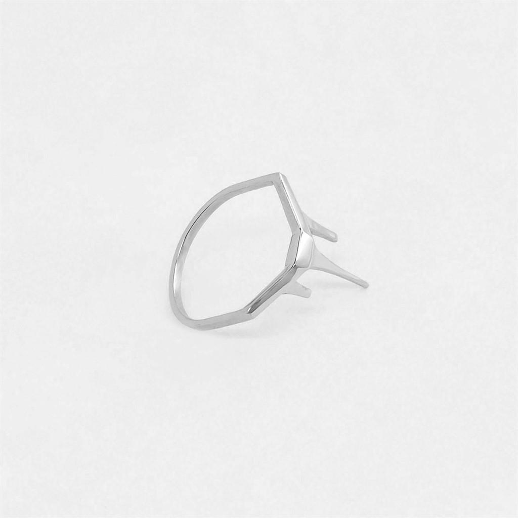 טבעת Three Bars כסף