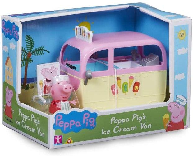 רכב גלידה peppa pig