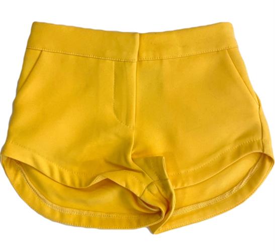שורט אלגנט צהוב