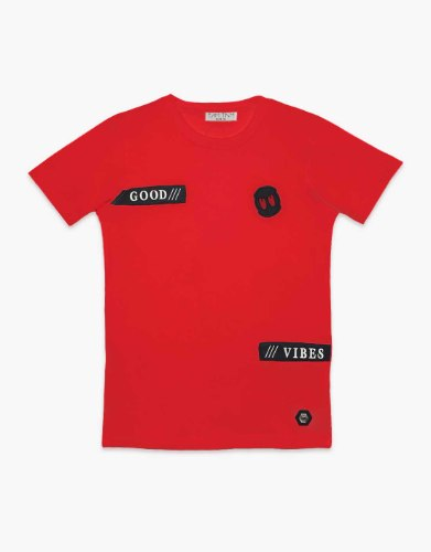 חולצת טריקו בנים  GOOD VIBE