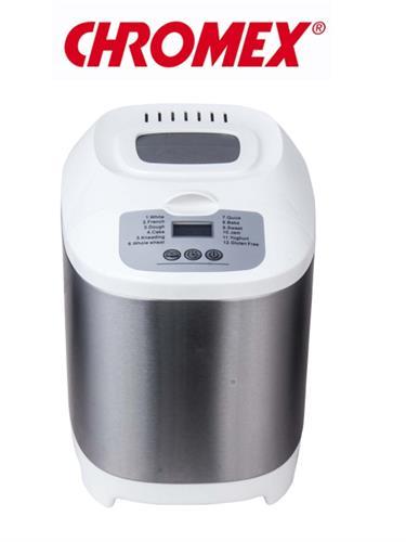 אופה לחם דיגיטלי נירוסטה דגם CH-1212 CHROMEX