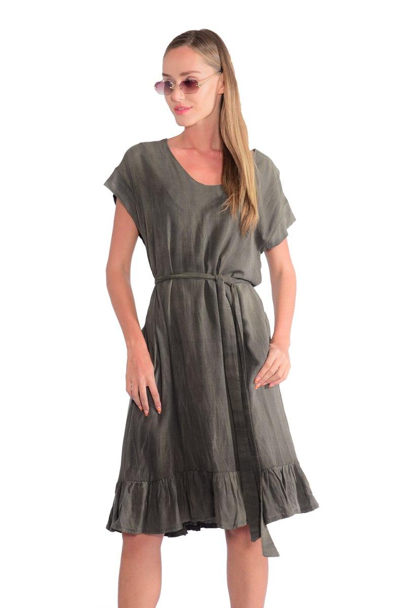 שמלה סאמי זית