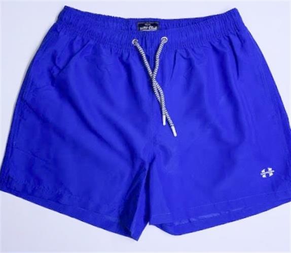 בגד ים בצבע כחול לגברים