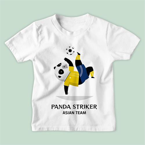 חולצת ילדים Panda Striker
