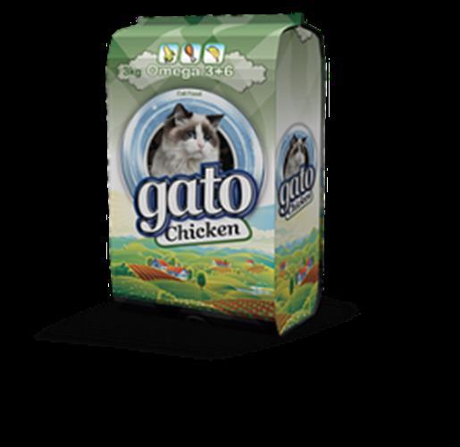 גאטו עוף - GATO מזון לחתול
