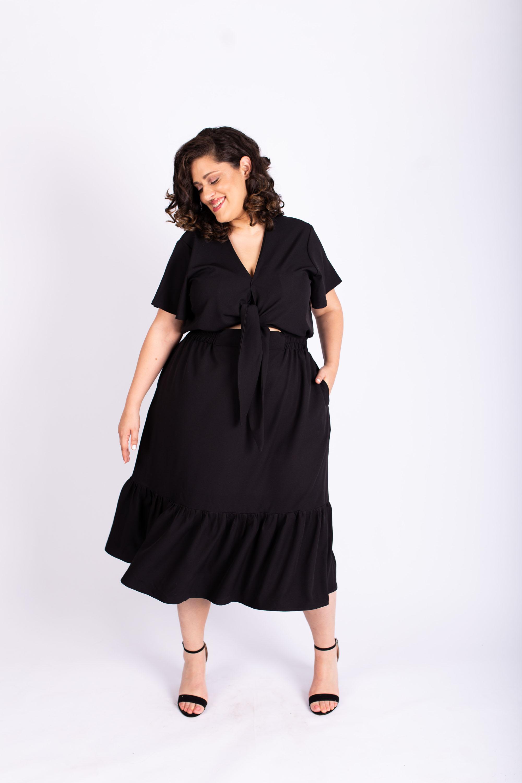 שמלת איה שחורה