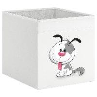 קופסת אחסון לכוורת עם הדפס- כלכלב