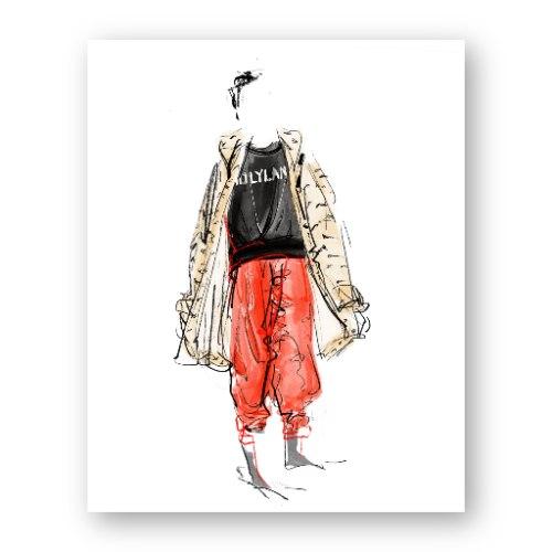 איור אופנה #33