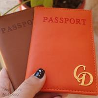 עותק של כיסוי דרכון 3 אותיות- זהב/כסף