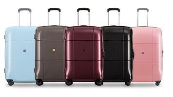 """מזוודה קטנה לעלייה למטוס אקולק קשיחה 20"""" Echolac SQUARE"""