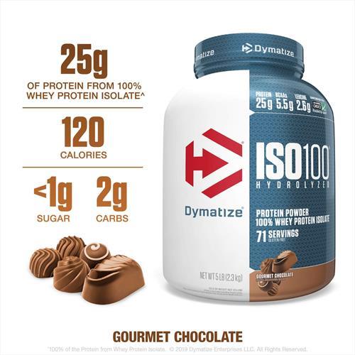 DYMATIZE ISO 100 דיימטייז איזו 100 אבקת חלבון