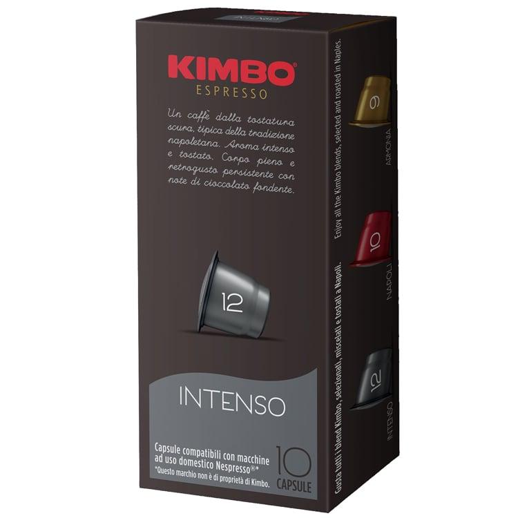 120 קפסולות קימבו למכונות KIMBO Intenso Nespresso