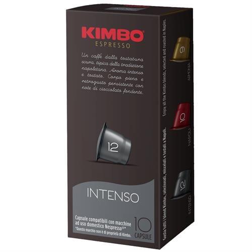 100 קפסולות קימבו למכונות KIMBO Intenso Nespresso