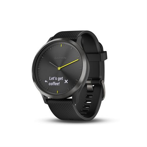 שעון דופק Garmin Vivomove HR Sport Black