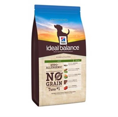"""הילס Ideal Balance ללא דגנים לכלבים בוגרים (טונה), 12 ק""""ג"""