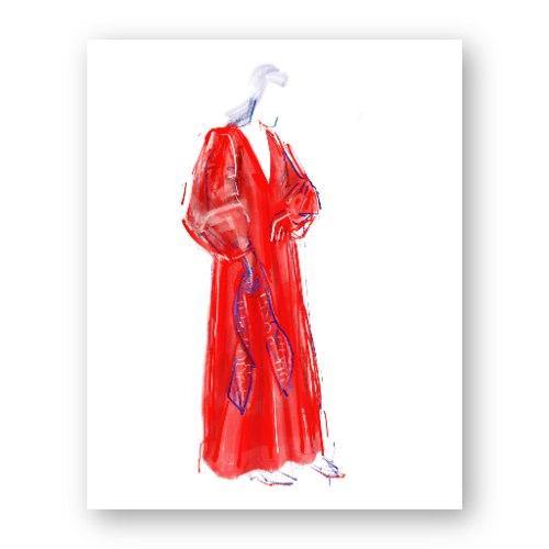 איור אופנה #34