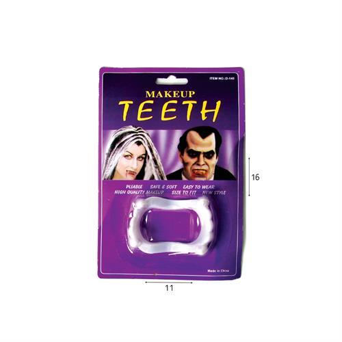 שיני דרקולה לבנות בבליסטר