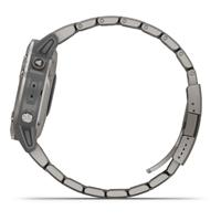 שעון דופק Garmin Fenix 6 Sapphire Titanium with Vented Titanium Bracelet