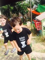 """חולצת """"BADASS PUPPY"""" לילדים"""