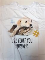 חולצת i'll fluff you forever שרוול קצר למבוגרים