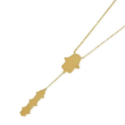 שרשרת חמסה עניבה זהב מיוחדת