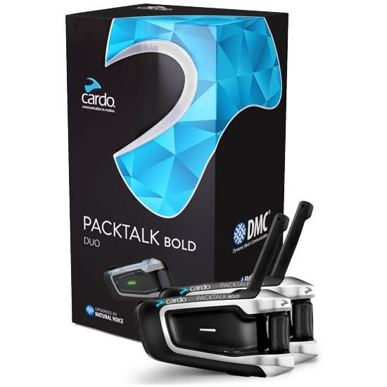 מערכת תקשורת לקסדה זוגית Scala Rider PACKTALK BOLD DUO
