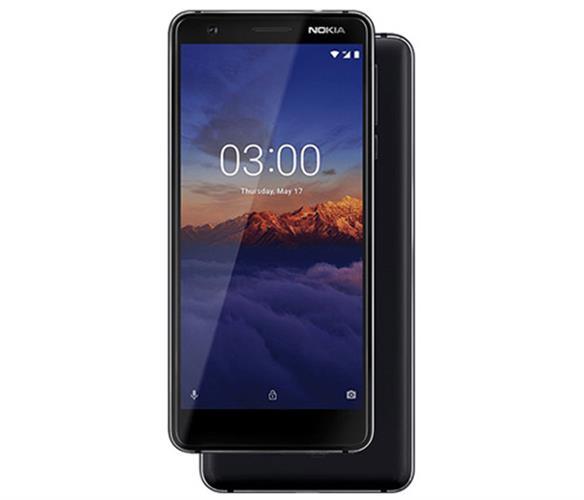 סמארטפון Nokia 3.1 16GB בצבע שחור - שנה אחריות היבואן הרשמי