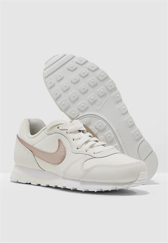 נעלי נשים נייק אם די ראנר צבע בז'/זהב דגם 807319 016