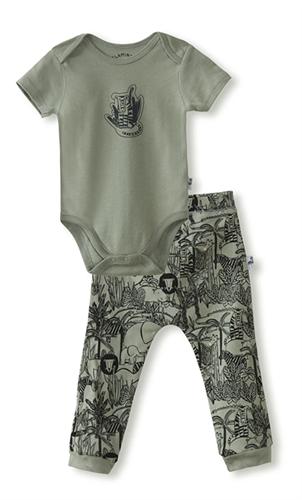 מארז בגד גוף ומכנסיים jungle חאקי