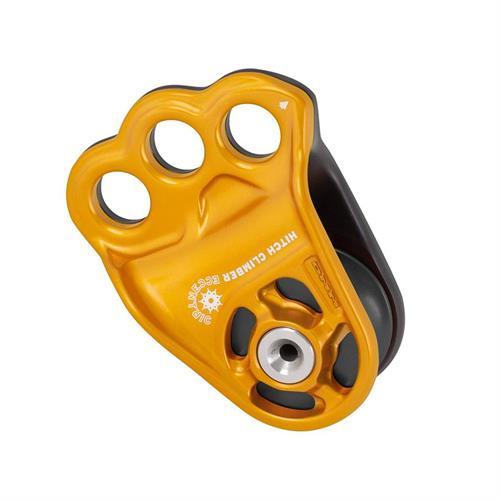גלגלת 3 חורים-DMM Hitch Climber Eccentric- זהב