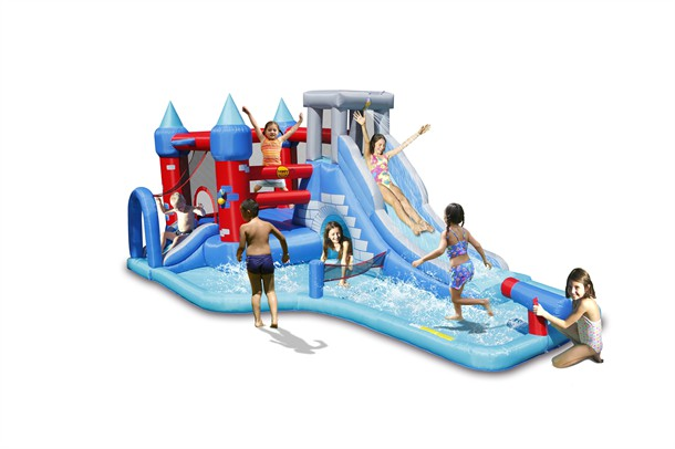 פארק מים ספלאש הפי הופ - 9261- Wet n Dry Splash Park HappyHop