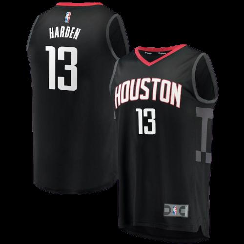 גופיית כדורסל ילדים  יוסטון רוקטס שחורה