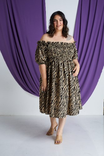 שמלת קיארה ספארי