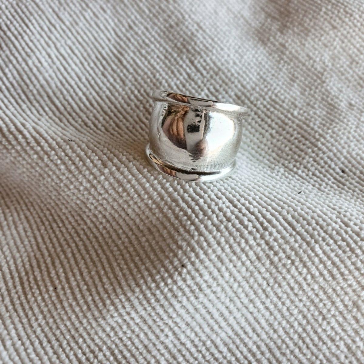 טבעת זרת סאן- כסף 925
