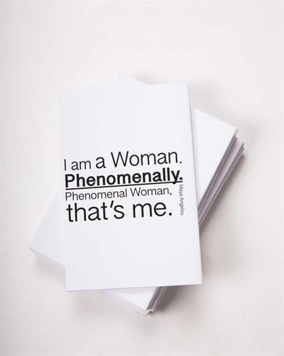 מחברת I'm a woman