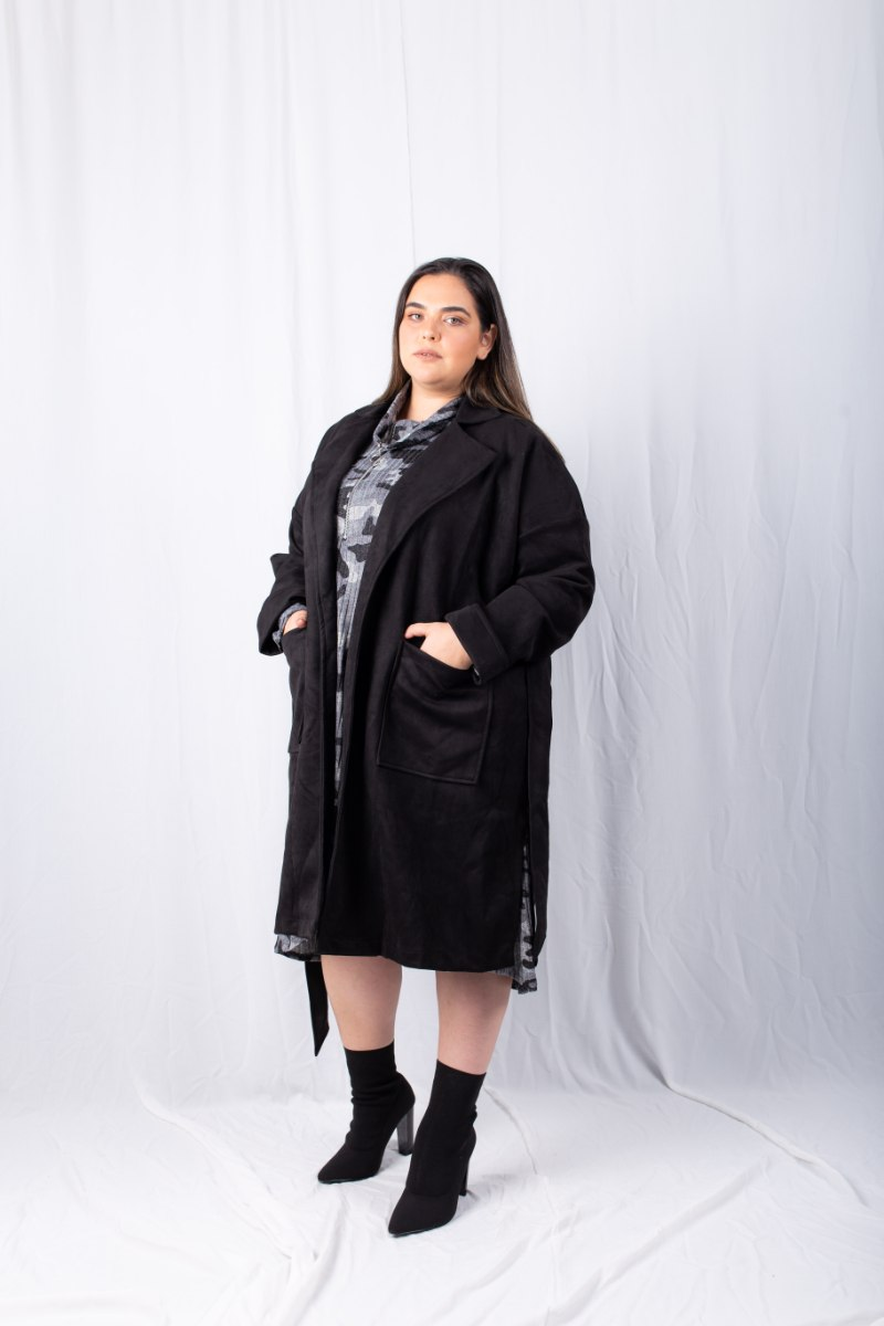 מעיל ג'ולי שחור