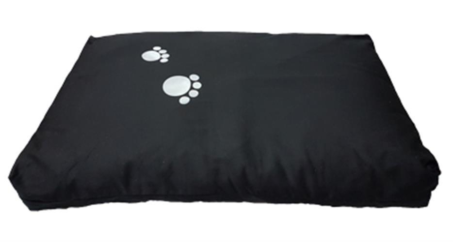 """מזרון לכלב גדול 70*107 ס""""מ - שחור פטסלנד"""